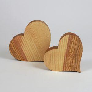 Holzherzen Geschenk zum Muttertag