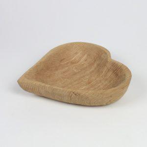 Herzdeko aus Holz Geschenkidee