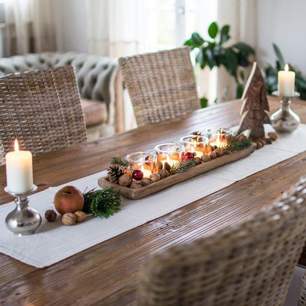 Weihnachtsdeko aus Holz